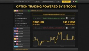 options trading by bitcoin